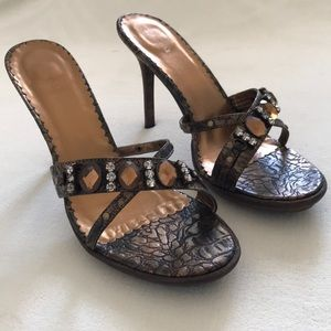 🟡2/$35🟡 SPRING Thatcham Rhinestone/Gem Heels